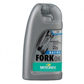 Motorex Racing Fork Oil SAE 5W huile de fourche bouteile 1 L