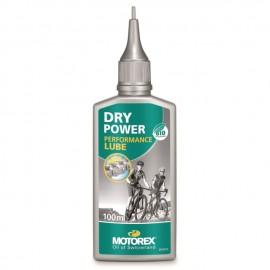 Motorex Dry Power lubrifiant pour chaîn bouteille 100 ml